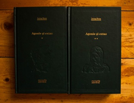 Irving Stone - Agonie si extaz (2 vol., editie hardcover)