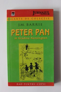 Poze J.M. Barrie - Peter Pan in gradina Kensington