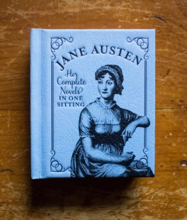 Jane Austen - Her complete novels in one sitting (editie hardcover, format liliput)