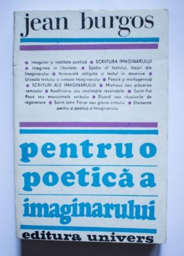 Jean Burgos - Pentru o poetica a imaginarului