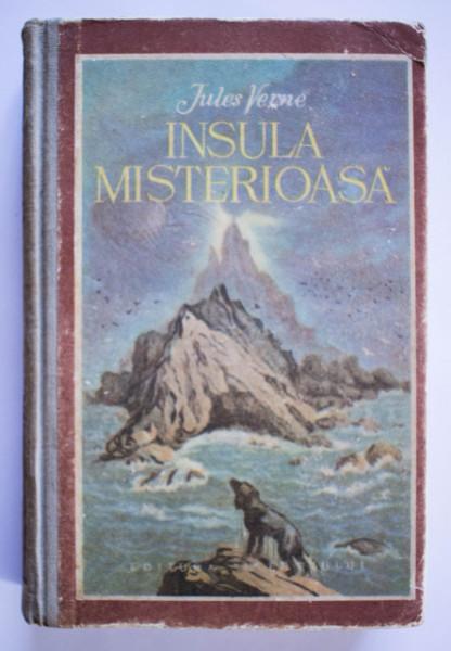 Jules Verne - Insula misterioasa (editie hardcover)