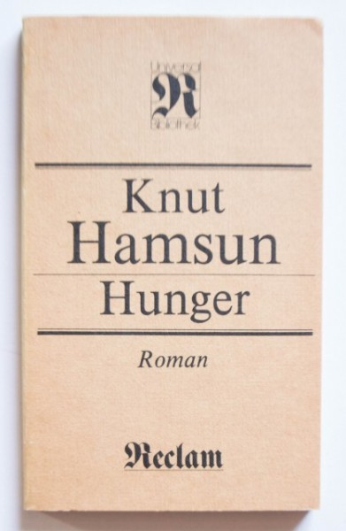 Knut Hamsun - Hunger (editie in limba germana)