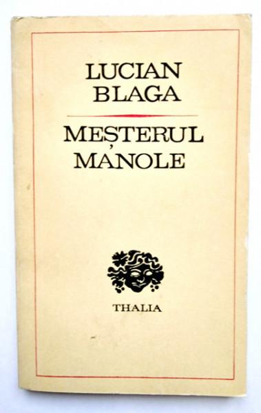 Lucian Blaga - Mesterul Manole (drama)