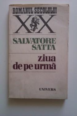 Salvatore Satta - Ziua de pe urma