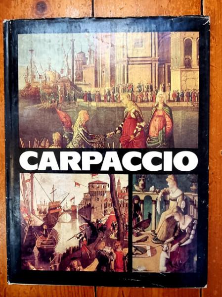 Simona Varzaru - Carpaccio (editie hardcover, in limba franceza)