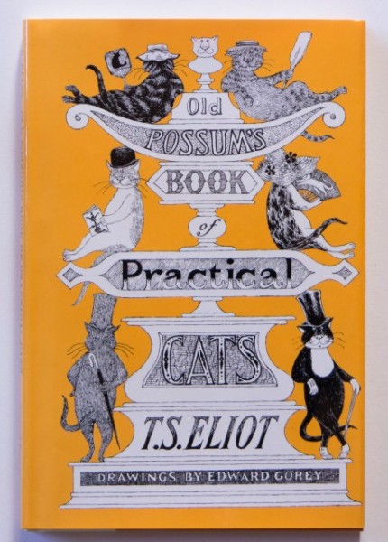 T. S. Eliot - Old Possum`s Book of Practical Cats (editie hardcover, cu ilustratii, in limba engleza)