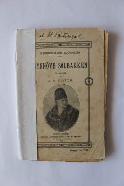 Bjornstjerne Bjornson - Synnove Solbakken (editie antebelica, 1909)