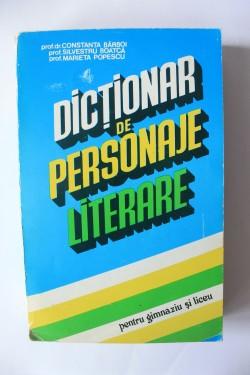 Constanta Barboi, Silvestru Boanca, Marieta Popescu - Dictionar de personaje literare