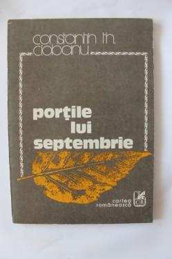 Constantin Th. Ciobanu - Portile lui septembrie