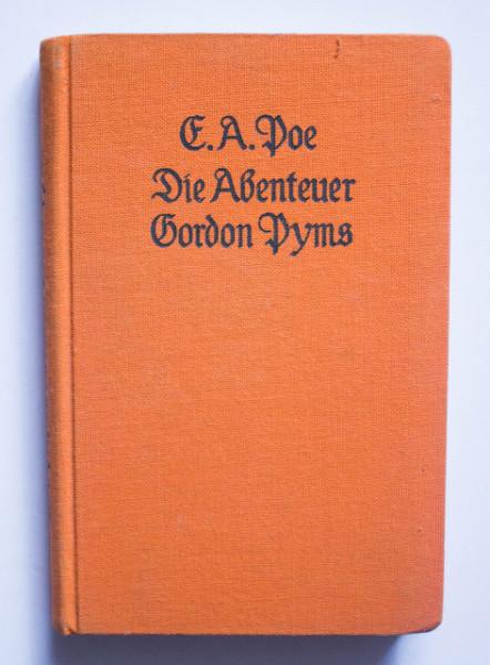 Edgar Allan Poe - Die Abenteuer Gordon Pyms (editie hardcover)