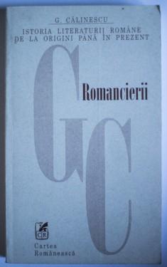 G. Calinescu - Romancierii (1920-1930)