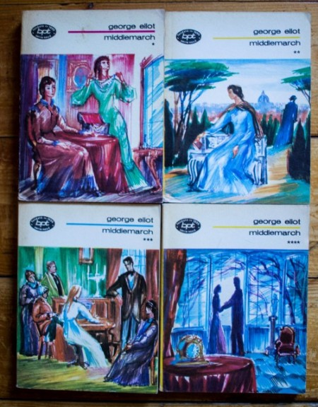 George Eliot - Middlemarch (4 vol.)