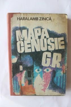 Haralamb Zinca - Mapa cenusie G.R. (editie hardcover)