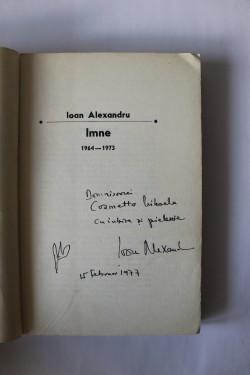 Ioan Alexandru - Imne (cu autograf)