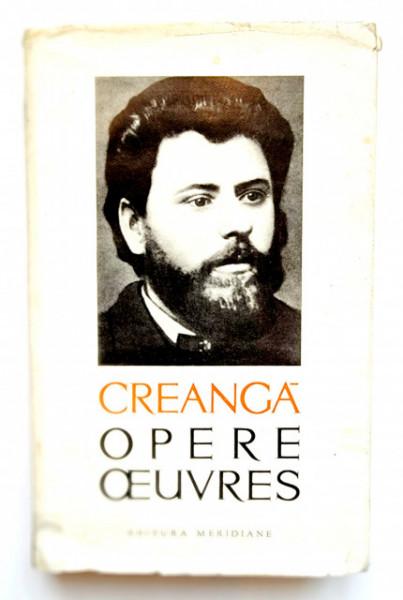 Ion Creanga - Opere / Oeuvres (editie hardcover, bibliofila, bilingva, romano-franceza)