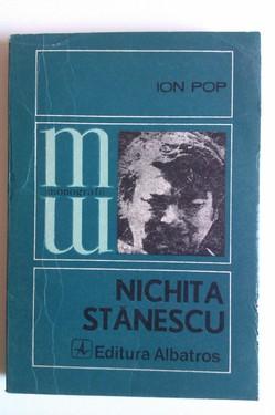 Ion Pop - Nichita Stanescu - spatiul si mastile poeziei (cu autograf)