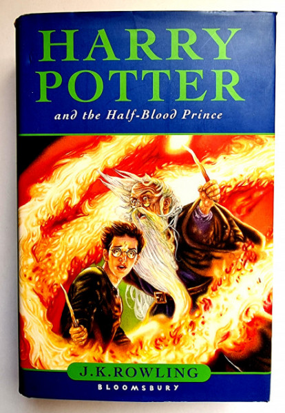 J. K. Rowling - Harry Potter and the Half-Blood Prince (first edition, hardcover)