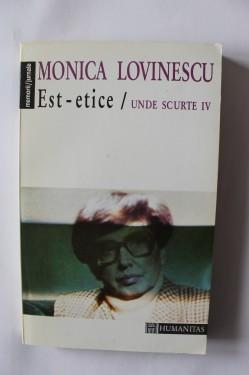 Monica Lovinescu - Est-etice. Unde scurte IV