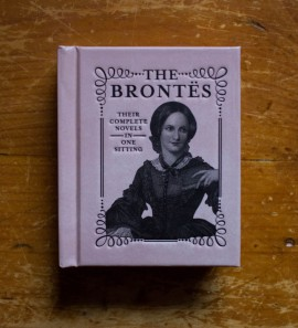 The Brontes - Their complete novels in one sitting (editie hardcover, format liliput)