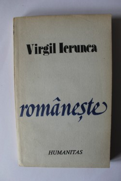 Virgil Ierunca - Romaneste