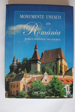 Album - Monumente UNESCO din Romania. Worlds heritage treasures (editie hardcover, bilingva, romano-engleza)