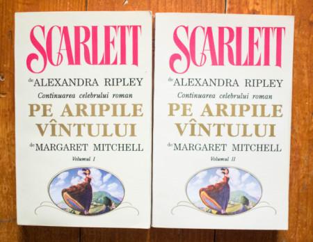 Alexandra Ripley - Scarlett. Continuarea celebrului roman Pe aripile vantului de Margaret Mitchell (2 vol.)