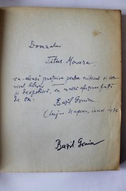 Bazil Gruia - Patima alba (cu autograf)
