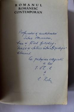 C. Robu, Ion Vlad - Romanul romanesc contemporan (cu dublu autograf)