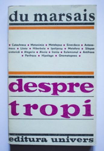 Cesar Chesneau Dumarsais (Du Marsais) - Despre tropi