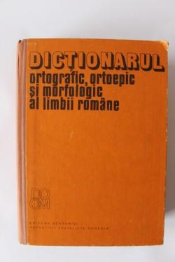 Dictionarul ortografic, ortoepic si morfologic al limbii romane (editie hardcover)