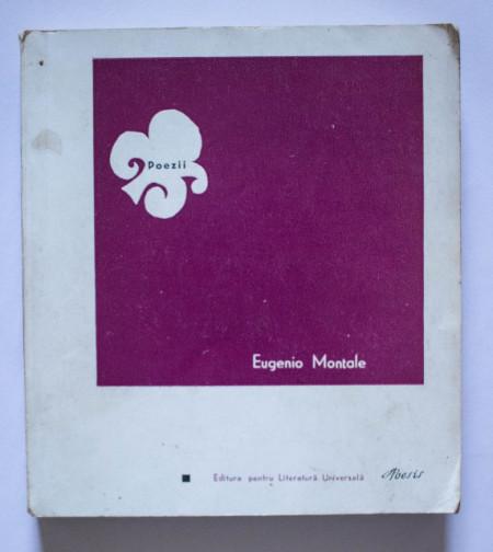 Eugenio Montale - Poezii / Poesie (editie bilingva, romano-italiana)