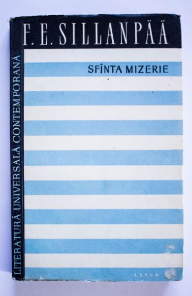 Frans Eemil Sillanpaa - Sfanta mizerie