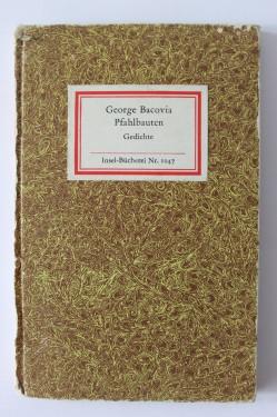 George Bacovia - Pfahlbauten. Gedichte (editie hardcover)