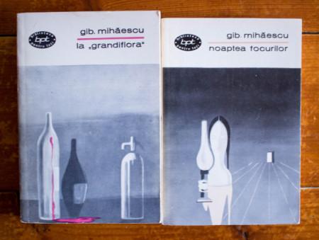 """gib. mihaescu. la """"grandifora"""" noaptea focurilor 2 carti bpt"""