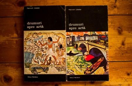 Heinrich Lutzeler - Drumuri spre arta (Ramuri ale artei. Fundamentele artei) (2 vol.)