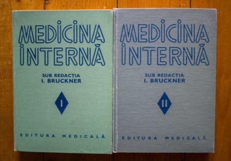 I. Bruckner (coord.) - Medicina interna (2 vol., editie hardcover)