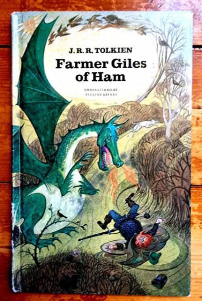 J. R. R. Tolkien - Farmer Giles of Ham (editie hardcover)