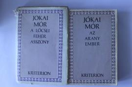 Jokai Mor - A locsei feher asszony. Az arany ember (2 vol.)