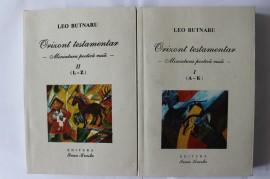 Leo Butnaru - Orizont testamentar (Miniatura poetica rusa, 2 vol.)