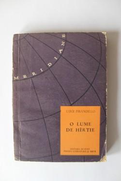 Luigi Pirandello - O lumea de hartie