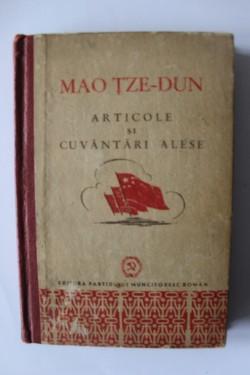 Mao Tze-Dun - Articole si cuvantari alese (editie hardcover)