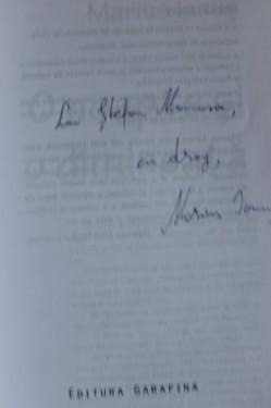 Marius Ianus - O noapte si o dimineata (cu autograf)