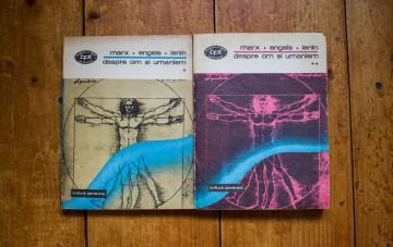 Marx, Engels, Lenin - Despre om si umanism (2 vol.)