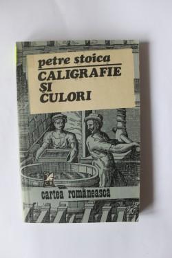 Petre Stoica - Caligrafie si culori