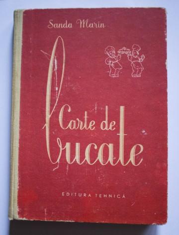 Sanda Marin - Carte de bucate (editie hardcover)