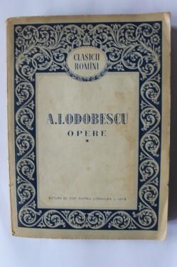 A.l. Odobescu - Opere I