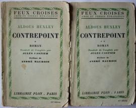 Aldous Huxley - Contrepoint (2 vol., editie interbelica)
