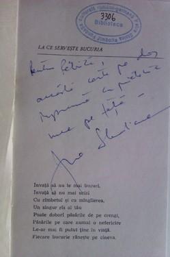 Ana Blandiana - Octombrie, noiembrie, decembrie (cu autograf)