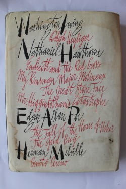 Antologie romane - Washington Irwin, Nathaniel Hawthorne, Edgar Allan Poe, Herman Melville (editie hardcover)