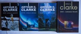 Arthur C. Clarke - Odiseea spatiala (4 vol., 2001: Odiseea spatiala, 2010: A doua odisee, 2061: A treia odisee, 3001: Odiseea finala)